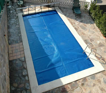 Accesorios y productos para pisicnas construccin de - Cubierta de piscina ...